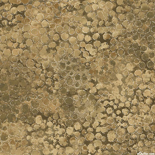 "Shimmer - Caviar Riches - Sandstone Brown - 108"" QUILT BACKING"