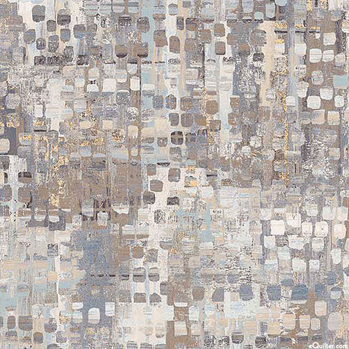 """Fusion - Mixed Eclectic - Pewter Gray - 108"""" QUILT BACKING"""