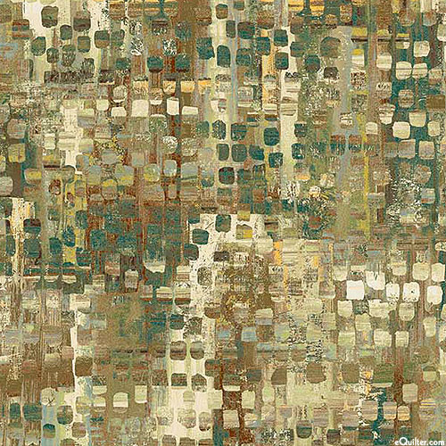 """Fusion - Mixed Eclectic - Willow Green - 108"""" QUILT BACKING"""