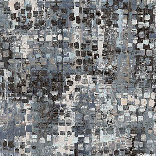"""Fusion - Mixed Eclectic - Charcoal Gray - 108"""" QUILT BACKING"""