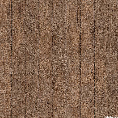 The Joys of Spring - Weathered Wood - Walnut Brown