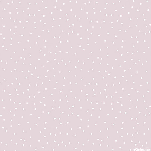 Serenity - Scattered Pindots - Heather Pink