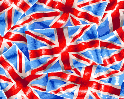 New Zealand Import - Union Jack Flags - Red/Sky