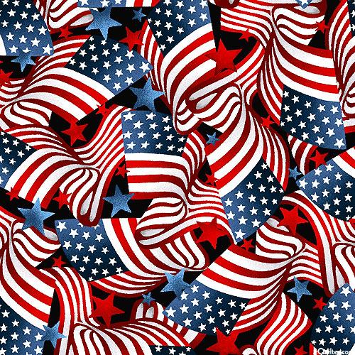 Essential Heroes - Waving Flags - Black