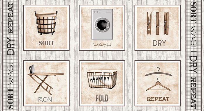 "Loads of Fun - Washroom Signs - Ivory - 24"" x 44"" PANEL"