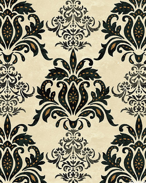 Le Poulet - Feathered Damask - Natural