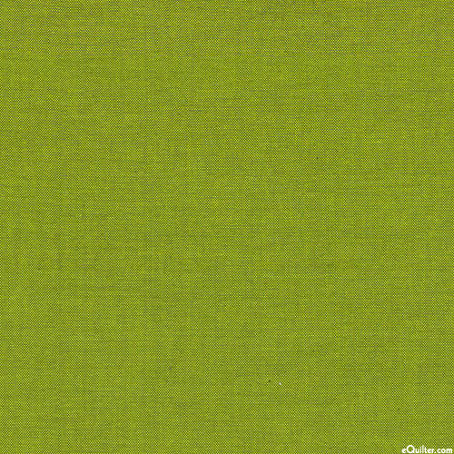 """Peppered Cottons Yarn-Dye - Peridot Green - 108"""" QUILT BACKING"""