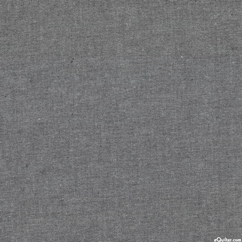 """Peppered Cottons Yarn-Dye - Black/White - 108"""" QUILT BACKING"""