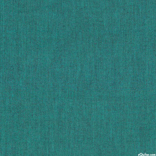 """Peppered Cottons Yarn-Dye - Teal - 108"""" QUILT BACKING"""