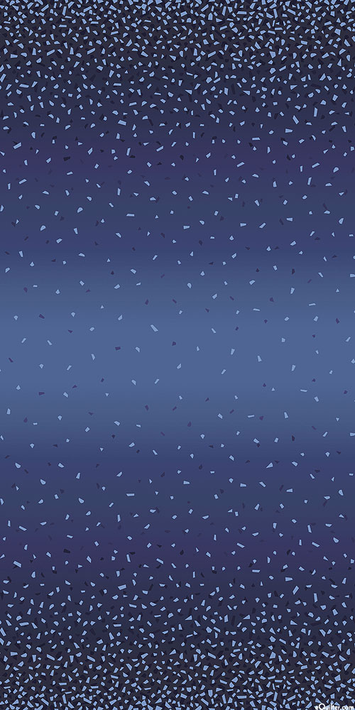 Snippets II - Falling Confetti Ombre - Navy/Pearl
