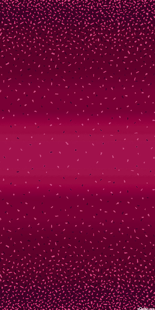 Snippets II - Falling Confetti Ombre - Burgundy/Pearl