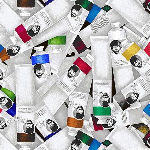 The Joy of Painting - Oil Paints - Gray - DIGITAL PRINT