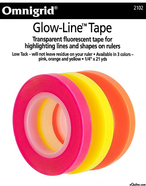 """Glow-Line Tape - 1/4"""" Wide"""