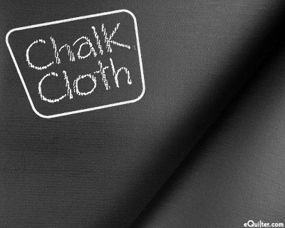 """Chalkboard Fabric - on 47"""" Oilcloth"""
