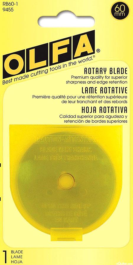 Olfa 60 mm Rotary Blades - Single Pack