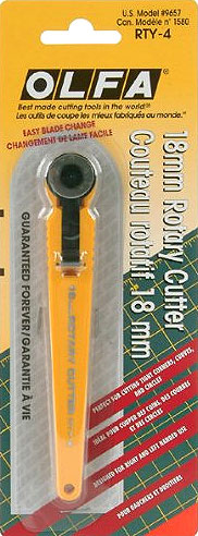 """Olfa """"Mini"""" Rotary Cutter."""