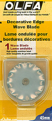 Olfa 45mm Rotary WAVE Blade