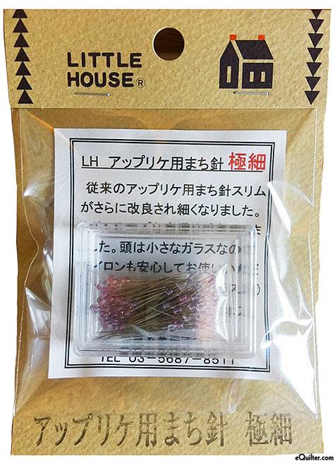 Little House Applique Slim Pins