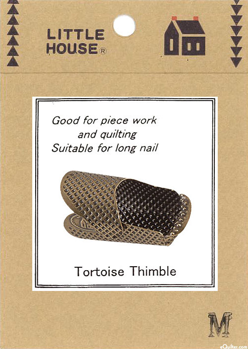 Little House Tortoise Thimble