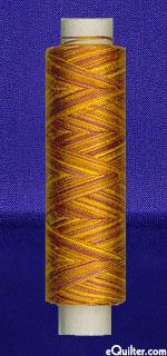 Oliver Twists - 164 yd. Cotton Machine Thread - Yellow Ochre