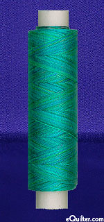 Oliver Twists - 164 yd. Cotton Machine Thread - Sky