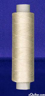 Oliver Twists - 164 yd Cotton Machine Thread - Ecru