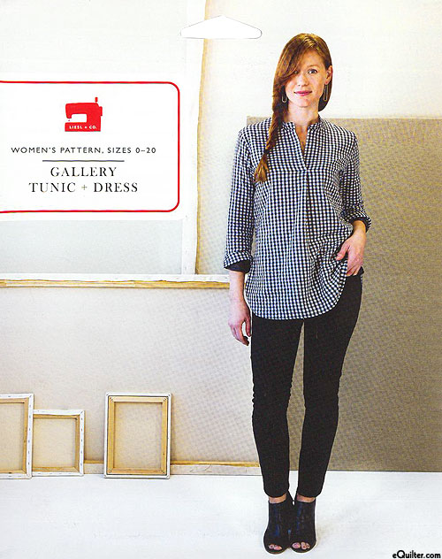 Gallery Tunic + Dress - Women's Pattern by Liesel + CO.
