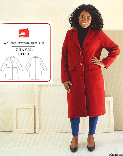 Chaval Coat - Pattern by Liesl + Co.