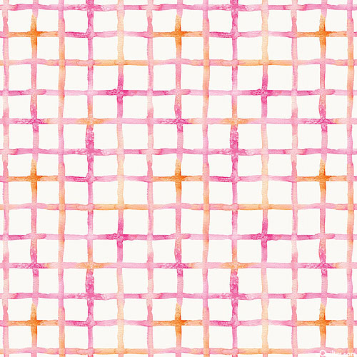 Little Darlings - Pastel Squares - Candy Pink