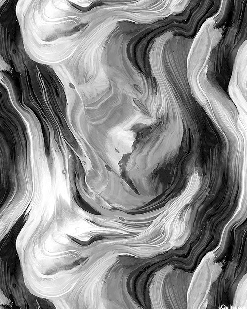 Fluidity - Smooth Marble - Graphite Gray - DIGITAL PRINT