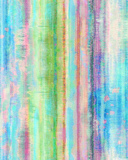 "Tahiti Dreams - Sand Striations - Opal - 108"" QUILT BACK"