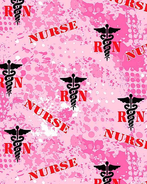 Nurses - Essential RN - Candy Pink