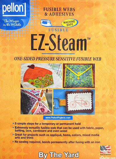 "EZ Steam - One Sided Pressure Sensitive Fusible Web - 12"""