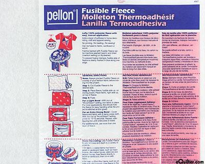 """Pellon Fusible Fleece - 44"""" Wide Polyester"""