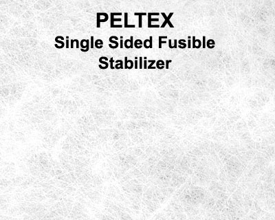 Peltex - Single Sided Fusible Ultra Firm Stabilizer - White