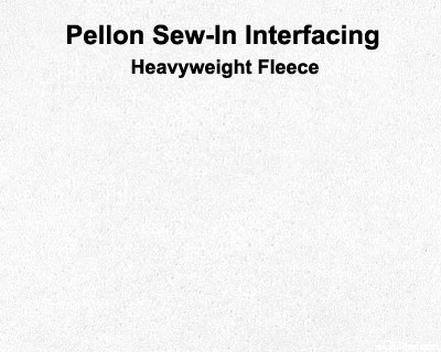 "Pellon Sew-In Fleece - 45"" Wide Polyester"