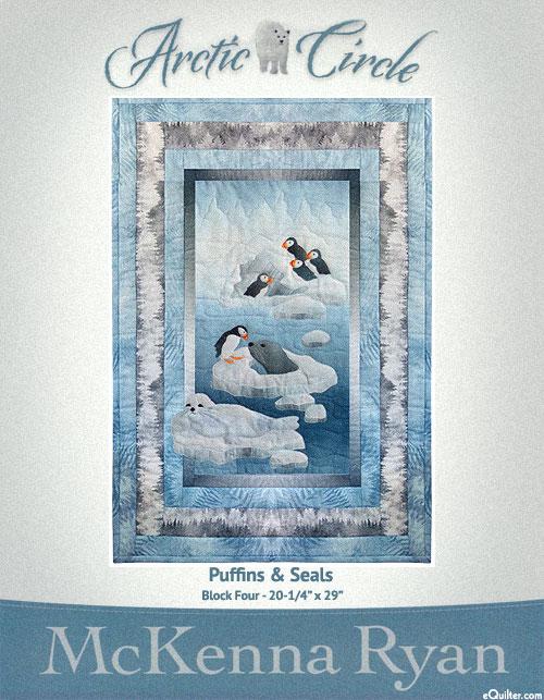 Arctic Circle - Puffins & Seals - Pattern by McKenna Ryan