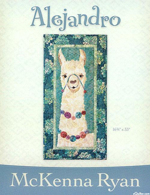 Alejandro - Applique Quilt Pattern by McKenna Ryan