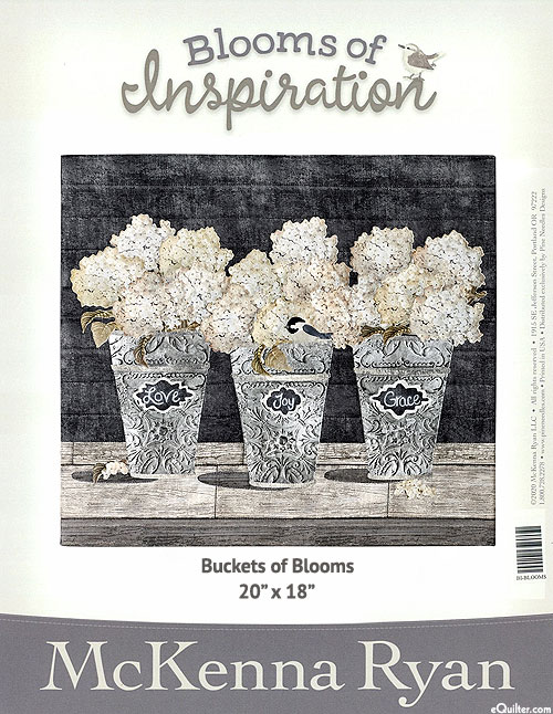Blooms of Inspiration - Buckets of Blooms - by McKenna Ryan