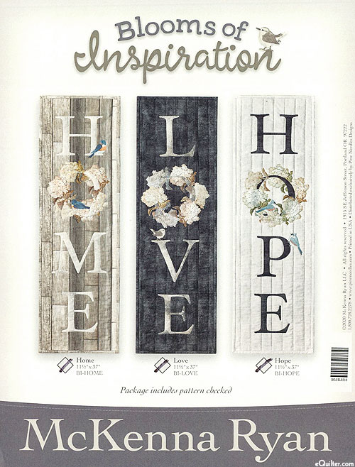 Blooms of Inspiration - Home, Love & Hope - by McKenna Ryan