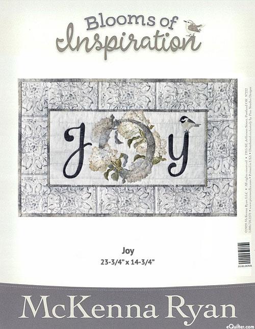 Blooms of Inspiration - Joy - Pattern by McKenna Ryan