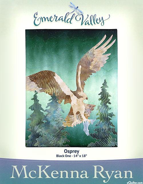 Emerald Valley - Osprey - Pattern by McKenna Ryan