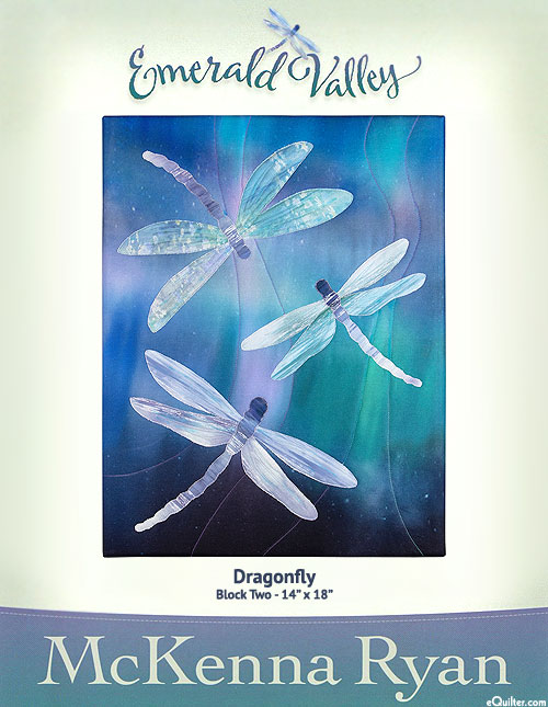 Emerald Valley - Dragonfly - Pattern by McKenna Ryan