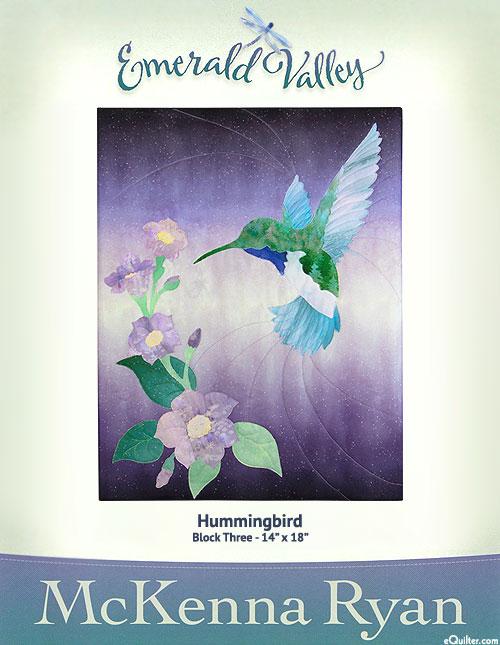 Emerald Valley - Hummingbird - Pattern by McKenna Ryan