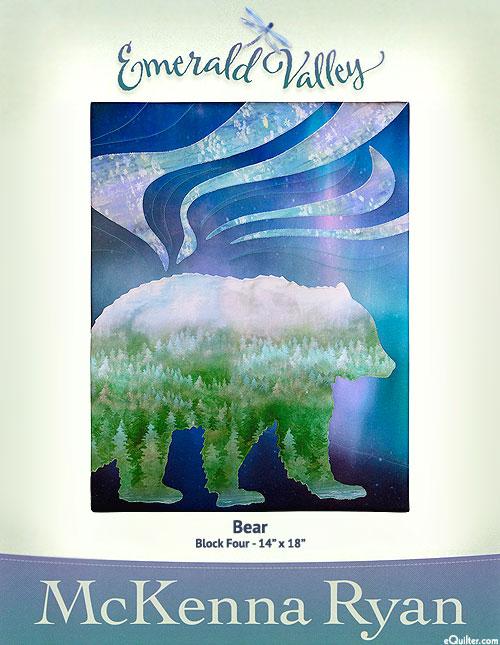 Emerald Valley - Bear - Pattern by McKenna Ryan