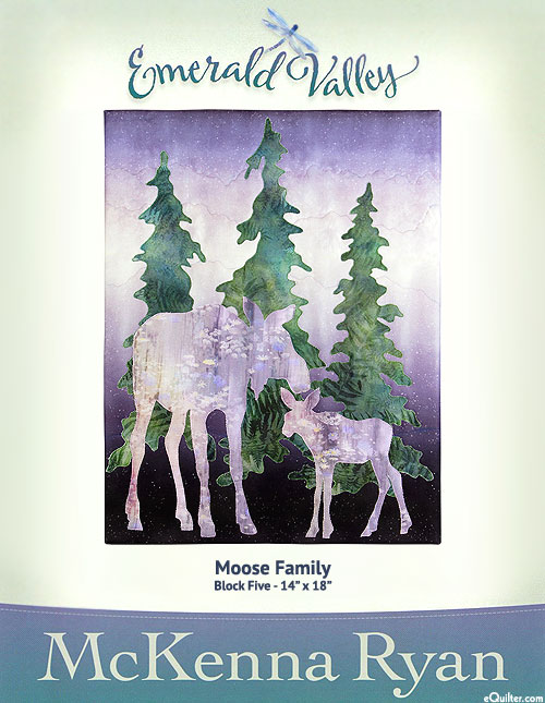 Emerald Valley - Moose Family - Pattern by McKenna Ryan
