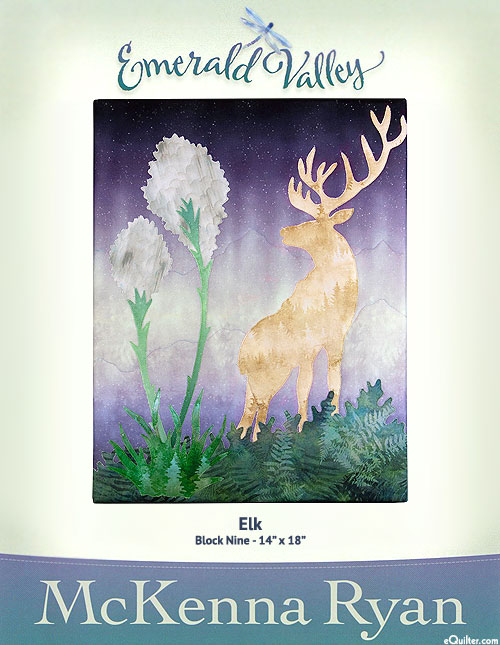 Emerald Valley - Elk - Pattern by McKenna Ryan