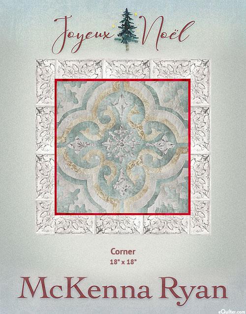 Joyeux Noel - Corner - McKenna Ryan PATTERN