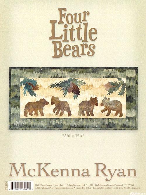 Four Little Bears - PATTERN by McKenna Ryan