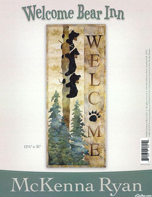 Welcome Bear Inn - Pattern by McKenna Ryan